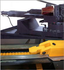 Clamping vise system