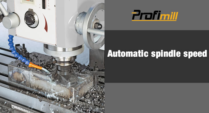automatic spindle speed