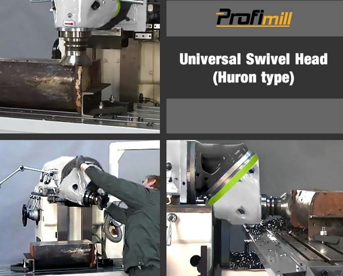 universal swivel head