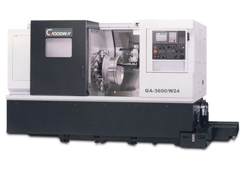 High Performance Aluminum-Wheel Turning Center - Goodway