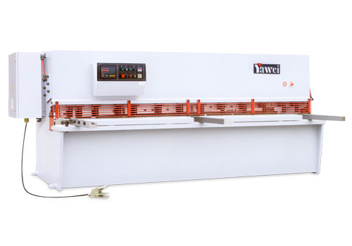 CNC Swing Beam Shearing Machines - Yawei