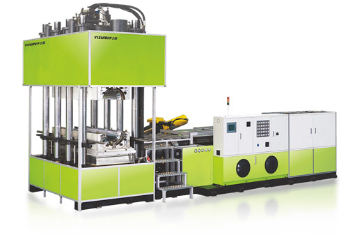 Composite Insulator Molding Rubber Injection Molding Machine - Yizumi