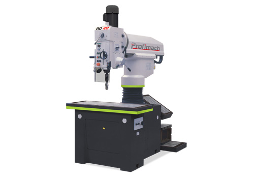 Coordinate radial drilling machines - profimach