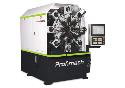 CNC multi-axis servo controlled wire forming machine - profimach