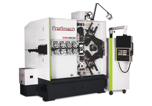 CNC compressed spring coiling machine - profimach