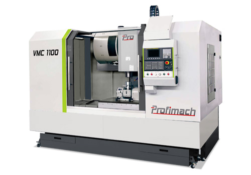 Powerful, precise and robust Vertical Machining Center - profimach
