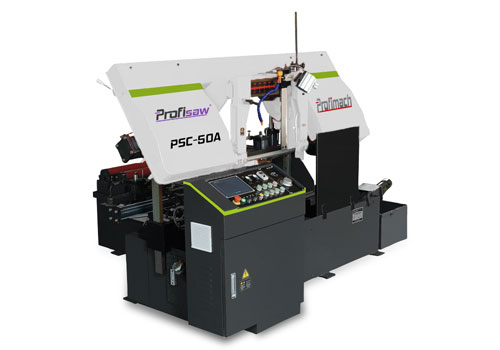 Column Type Fully Automatic Column Band Saw - profimach