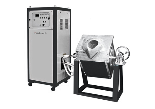 Medium Frequency Induction Melting Furnace - profimach