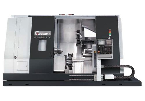 Multi-tasking Twin Spindle and Twin Turret Turning Center - Goodway