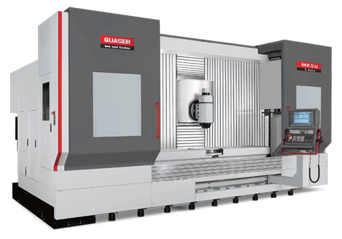 Long Bed Five Axis Complex Machining Center - Quaser