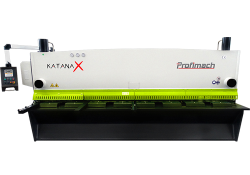 profimach Katana X 13 HIGH PRECISION CNC SHEARING