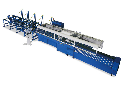High Speed Tube and Profile Mitre Cutting Line - soco