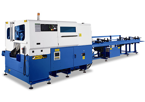 High Speed Tube and Solid Bar NC Cutting Line - soco